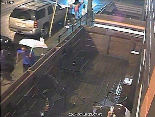 Suspect flees WKND Lounge