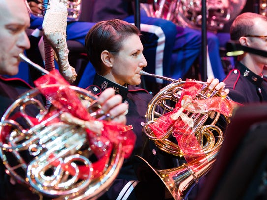 The West Point Band presents its holiday show Dec.