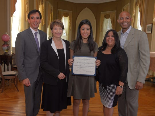 Gianella Solorzano of New Rochelle was given the second