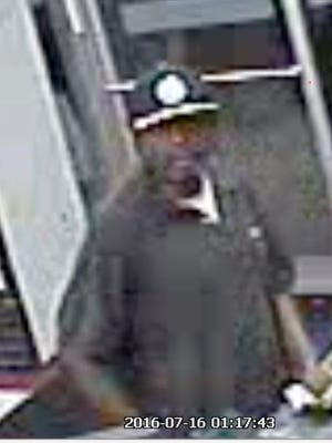 Hattiesburg police are seeking a man who robbed a convenience store at 2502 West Seventh St,