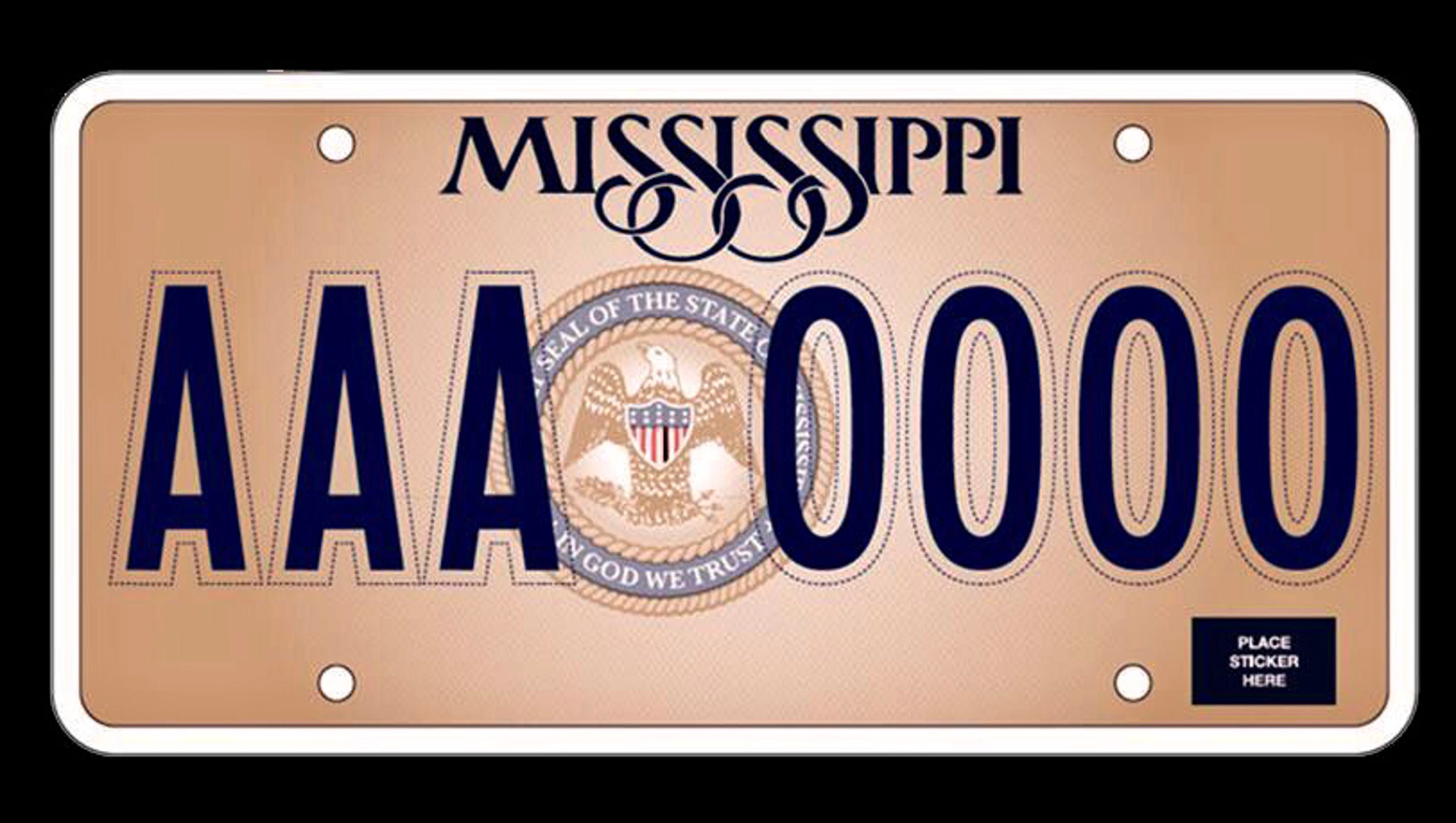 In God We Trust\' will be on new Mississippi license plate – USA ...