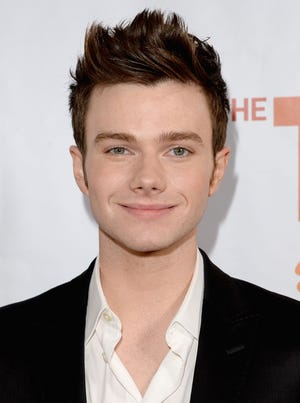 Chris Colfer's newest book is 'A Grimm Warning.'