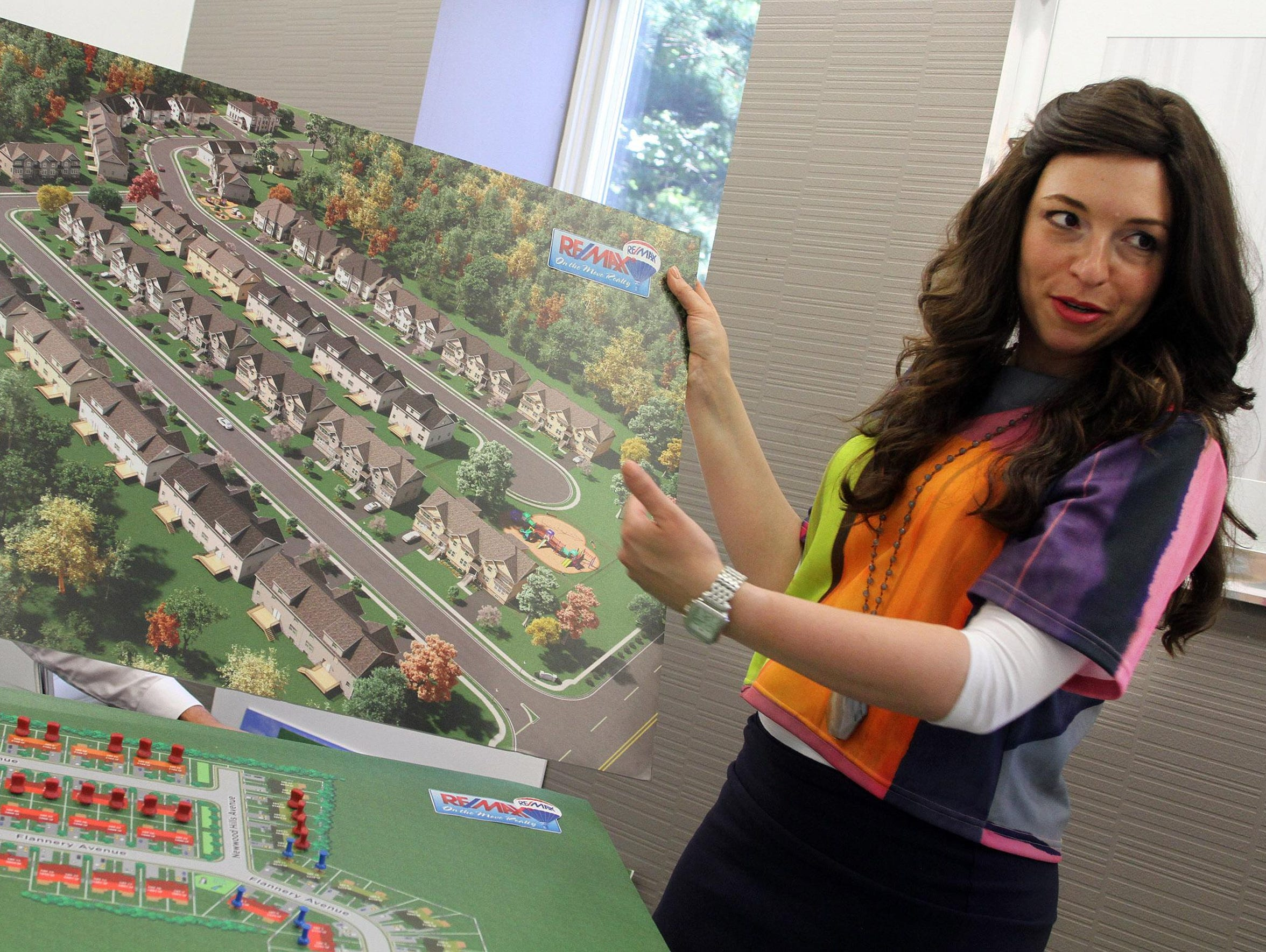 Re/Max realtor Esther Klein talks about the plans for