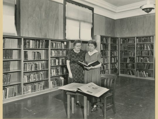 Ethel Ely (left) and Mildred Roblee ca. 1961