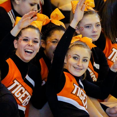 The 2015 STAC Cheerleading Championships at Union-Endicott