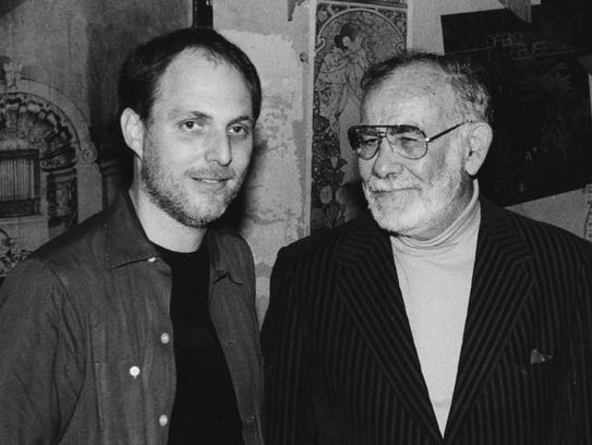 Billy Vera with Jerry Wexler.