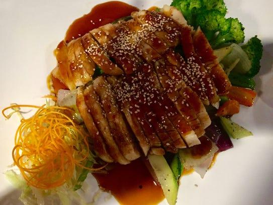 Chicken teriyaki at Sake, 731 Main St., Lafayette.