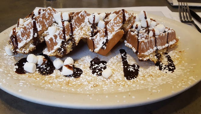 Turning Point restaurants offer some fun options for kiddos, including this S'mores-inspired French Toast.