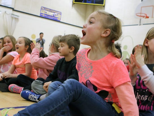 Big Bend Elementary students explode with applause