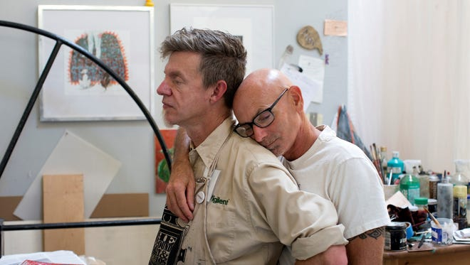 David Spiher, left, met Ralph Thurlow in 2004, not long after Ralph tested positive for HIV. Their life in the East Bay was mostly happy and uncomplicated until Ralph's health took a turn.