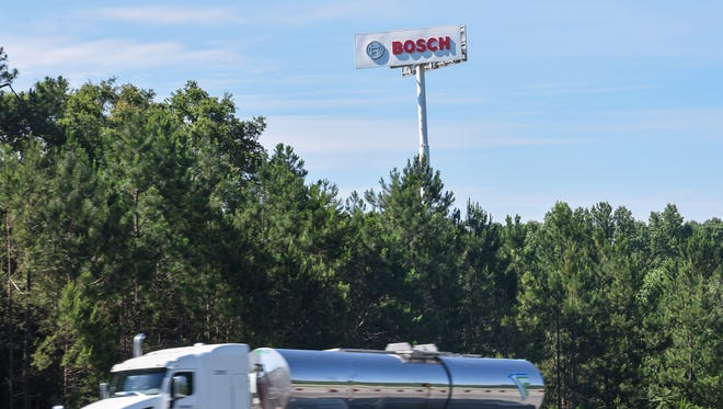 Robert Bosch LLC is among companies that have helped Anderson's employment numbers in recent yeasr .