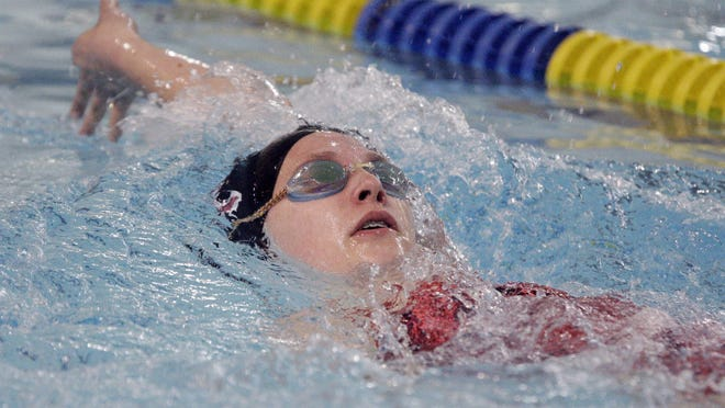 De Pere's Emily Macco was first-team All-FRCC in three events for girls swimming this fall.