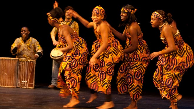 Chiku Awali African Drum and Dancers will perform as part of Rockland Community College's Black History Month celebration.