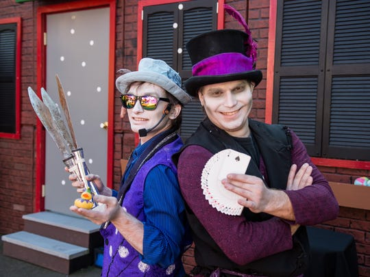 Comedy, magic, and animal antics are part of the kid-friendly shows at Fright Fest.