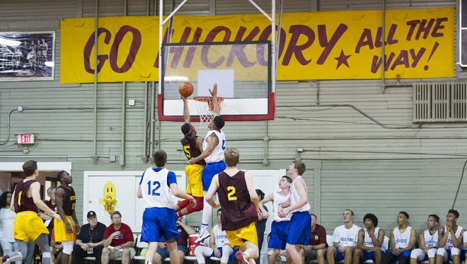 FILE – The Historic Hoosier Gym in Knightstown.