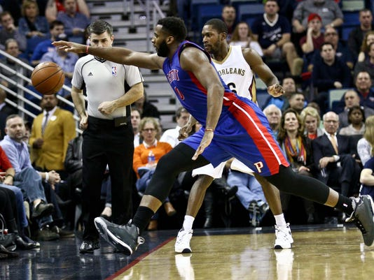 NBA: Detroit Pistons at New Orleans Pelicans