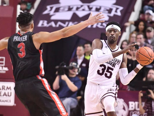 NCAA Basketball: Georgia at Mississippi State