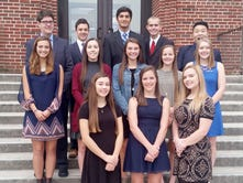Delone Catholic presents 2016 Homecoming Court