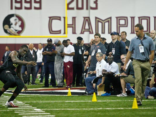 NCAA Football: Florida State-Pro Day