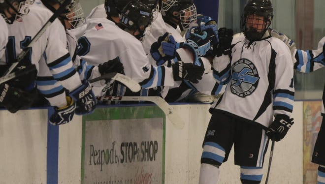 Kevin Johnston (right) is the leading scorer for Mahwah this season.