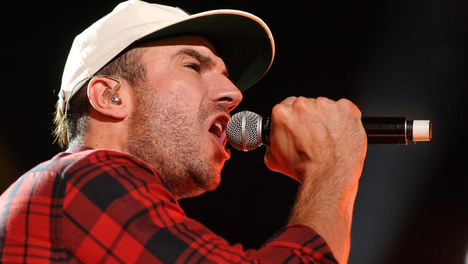 The Sam Hunt Street Party has been postponed until 6 p.m. Wednesday.
