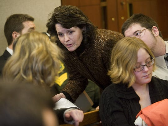 Mary Morrissey, pictured in a January 2011 file photo,