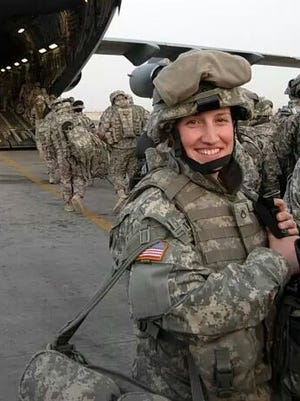 Nicole Bundas served in Iraq as an embed specialist in charge of working with the civilian media.