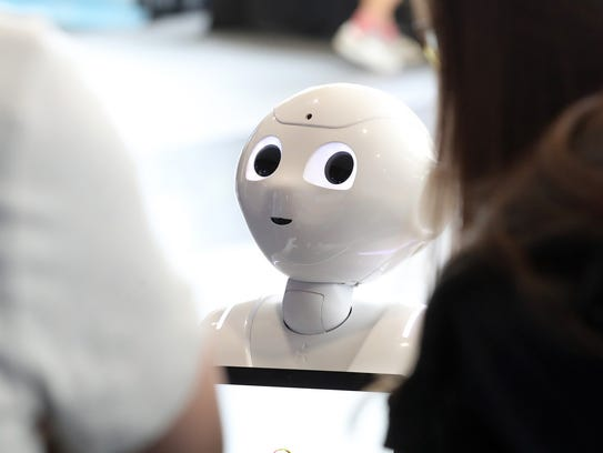 C Spire's tech event at The Pavilion on April 27, 2017 in Oxford, MS was the coming out party for Pepper, an engaging robot powered by artificial intelligence.   The company uses Pepper to help inspire and educate students on the value and importance of pursuing academic and professional careers in information technology and computer science.