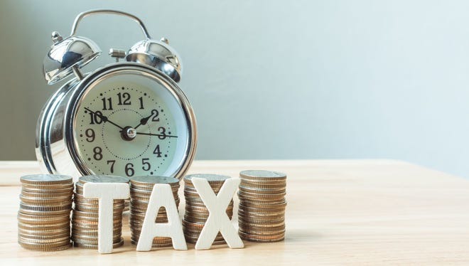 Time is running out: Taxes are due on April 18 this year.