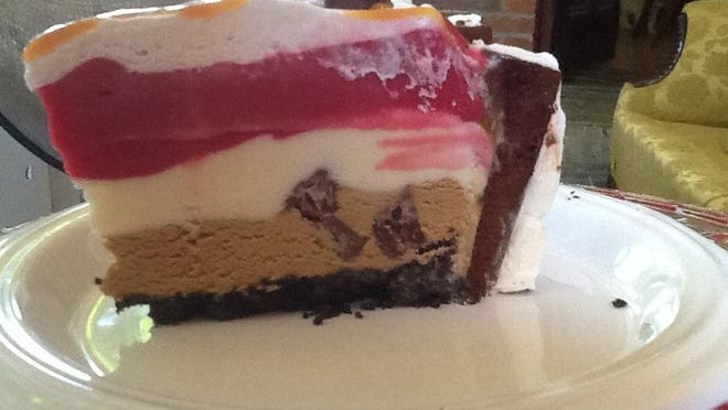 This recipe taught me how easy and versatile ice cream cakes are to make.