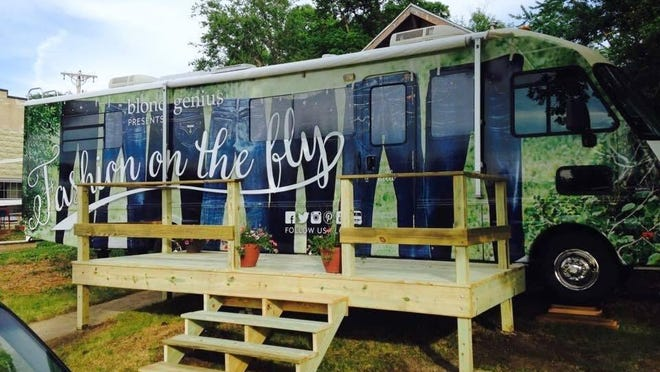 West Des Moines-based Blond Genius has created a mobile boutique, which is parked this summer near Okoboji.