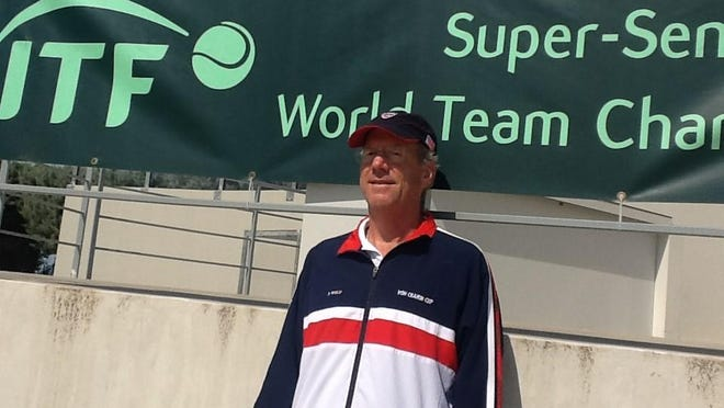 Paul Wulf represented the U.S. on senior tennis circuit.