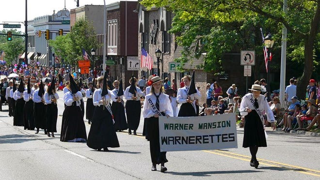 The Warnerettes will be among the participants in the annual Founders Festival parade, a highlight of the four-day festival set for July 20-23.