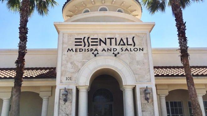 Left: Essentials Medi Spa & Salon in Melbourne.