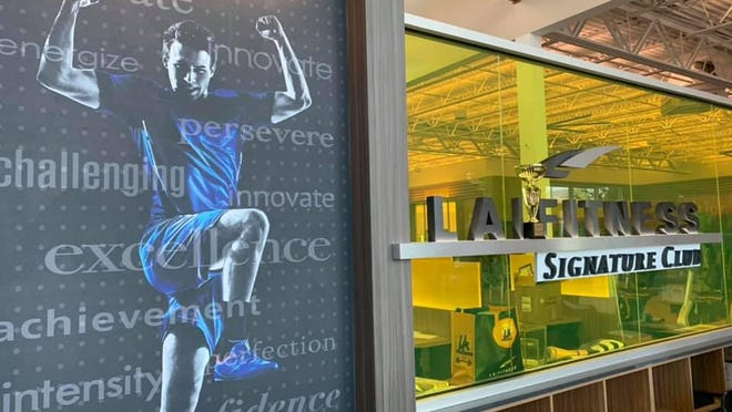 LA Fitness opened its first 'Signature Club' in Palm Beach County Tuesday at Alton Town Center in Palm Beach Gardens.
