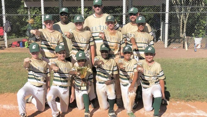The Celtics Baseball 12U team defeated Pride Mahler 8-7 to take first place at the Summer Nationals in Ormond Beach on Sunday.