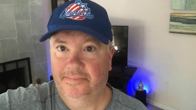 Longtime Rochester Amerks hockey fan Mike Baldwin received an unwelcome surprise with team gear he purchased -- a face covering with anti-mask messaging.