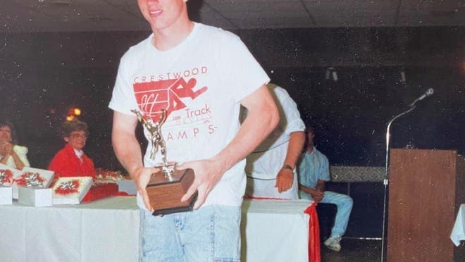 Kevin Porco earned many awards during his standout athletic career at Crestwood High School.
