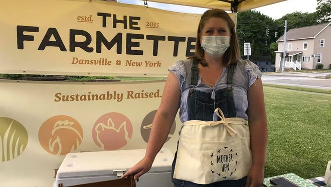 Kate Morrison of The Farmette will have plenty of tasty fresh meats at the farmer's market every week.