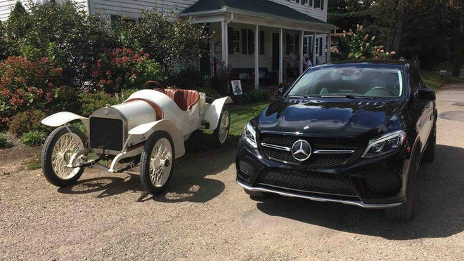 These cars will be on display at a car show on Saturday in Historic Zoar Village. Submitted photo.