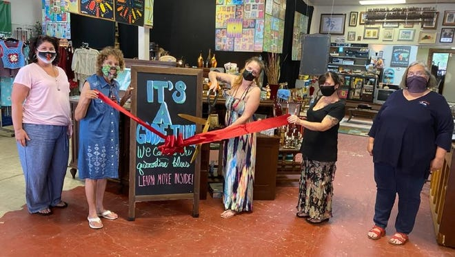 The Smithville Chamber of Commerce last week hosted a ribbon cutting ceremony for It's A Goode Thing, at 209 Main St., Smithville.