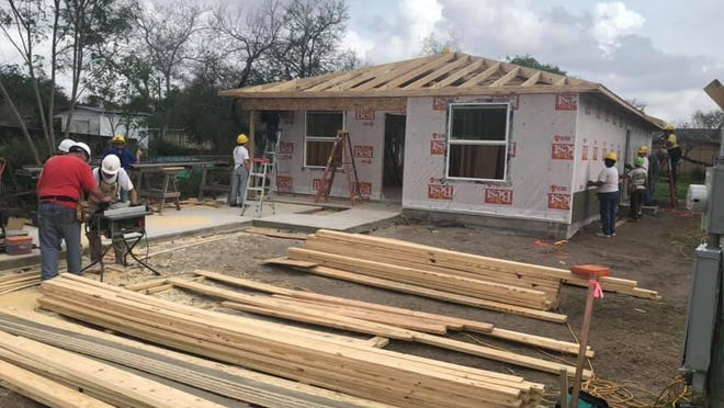 JWC Habitat for Humanity built the 17th home in the county with the help of care-a-vanners.
