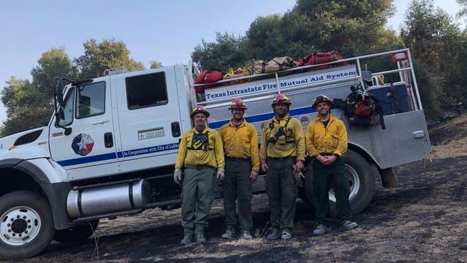 A crew from Lubbock Fire Rescue joined firefighters from around the country in battling one of the largest wildfires in California's history.