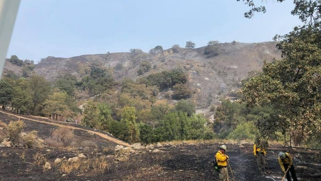 Firefighters from around Texas and the nation have joined crews in California to battle wildfires in that state.