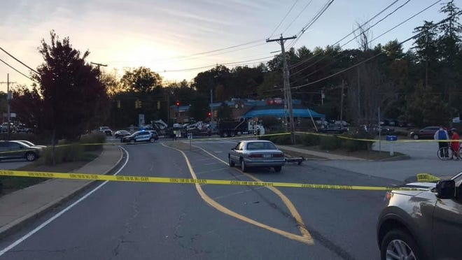 Police say an Ashland man whose moped collided with another vehicle on Rte. 135 early Thursday evening has died.