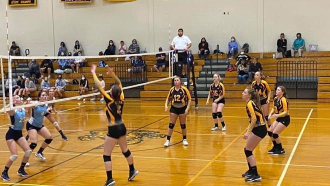 Keyser and Frankfort met in match play on Tuesday. Photo courtesy of Brian Kesner