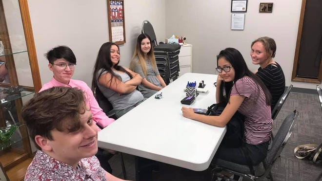 Teenagers who are part of the Topeka Youth Project have many ways to get involved in the community, including taking advantage of internships.