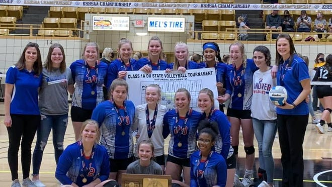 A school with rich state championship tradition, Hanover got its first volleyball state title since 1979 last Saturday in Emporia. The Wildcats went 5-0 to win the Class 1A Division II title.