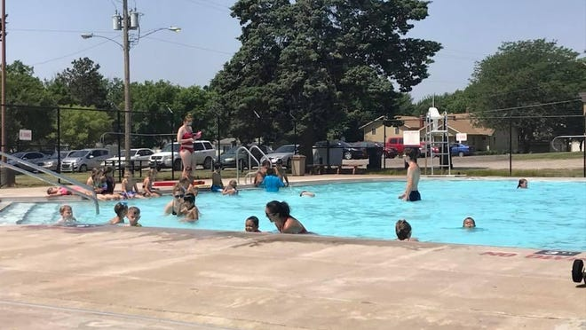 The Newton USD 373 Board of Education approved an agreement Monday that opened the door for the construction of a new city pool using the Public Building Commission as a bonding entity for the project.