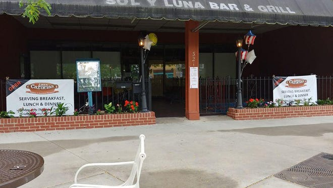 Las Cazuelas has opened at 321 N. Main St., in the spot formally occupied by Sol y Luna. The owners say they are awaiting new signage.